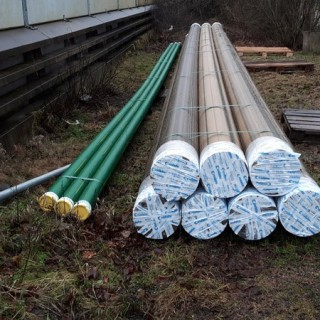 CHEMICALS RESISTANT WATER SUPPLY SYSTEM IN LERUM SWEDEN